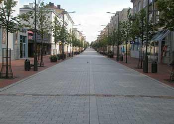 Vilniaus street in Šiauliai
