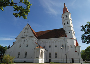 Cathedral of the Apostles Saints Peter and Paul in Šiauliai