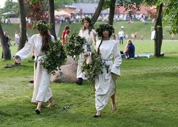 Saint Jonas' Festival or Dew Holiday